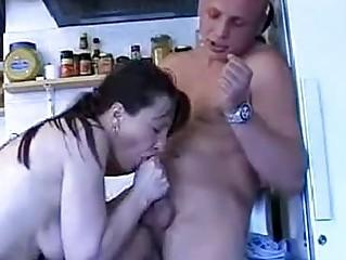 aged lady enjoying a young gentlemens schlong