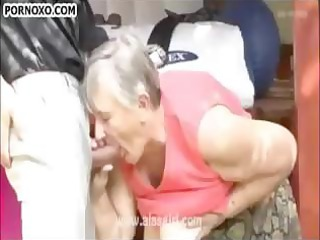 greyhaired granny receives sexually satisfied!
