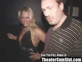 blond birthday whores public porn theater sex