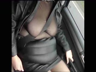 leather mini skirt darksome seamed nylons older