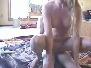 wife rides and plays with toy