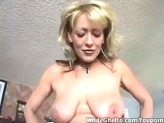 white ghetto - breasty aged love his pounder