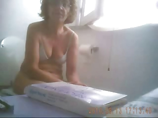 hidden cam. super video of my mature mamma in