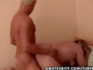 overweight dilettante older wife screwed by a
