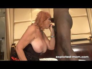 big tit redhead milf fucking black wang