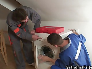 old widow services repairmen