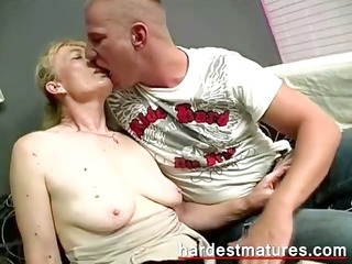 lusty granny acquires it is hard