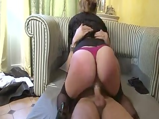 agreeable large titted older gets screwed in the