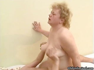 naughty old woman goes eager riding part1