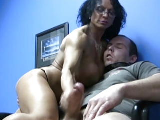 large love melons milf cook jerking