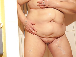 brenda in the shower