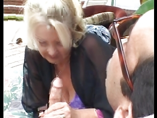 beautiful mature granny &; juvenile man - driver01