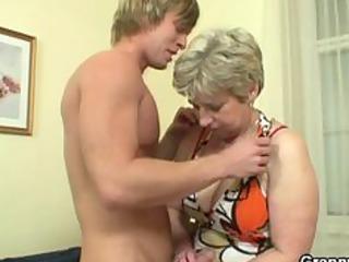 granny got her neighbours cock