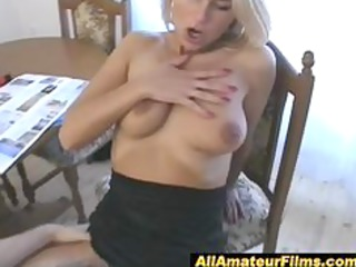 blonde hawt milf getting a fuck treat