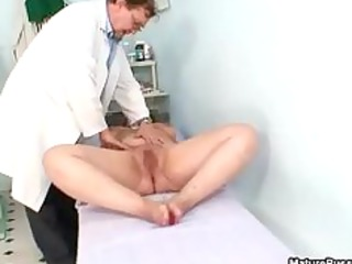 bulky old grandma acquires her shaggy pussy part6