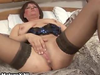 messy old mom in hawt underware fucking part11