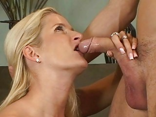 blond milfs ball licking blowjob act
