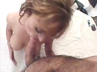 nice french aged woman sucks and give her pussy