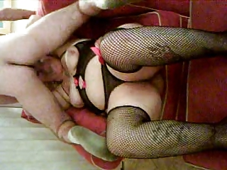 wicked lustful wife sucking the cable boy off