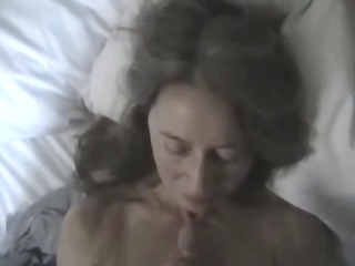 sexy facial on wife