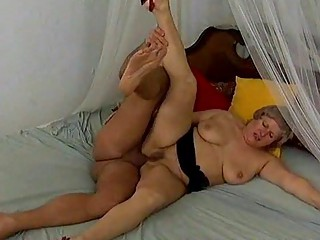 obese breasty mama needs hard anal sex