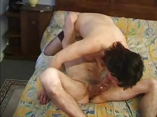 maid mature woman muff and anal fuck