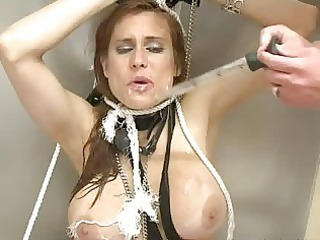 cute milf receives filled with cream after hard