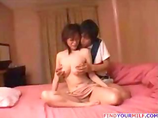 japanese mommy and sons friend 10