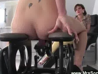 aged humps on sex chair