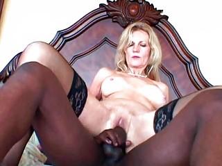 interracial granny