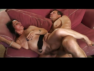 mamma hairy pussy drilled by troc