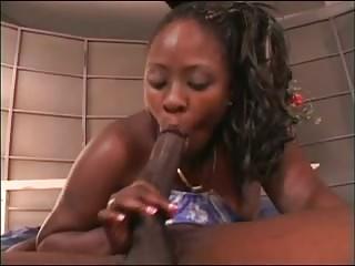 hot ebon milf chick nailed by youthful subrigid