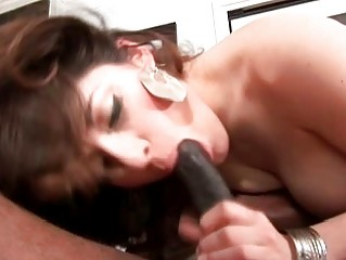 large breasted milf in mini skirt rides giant