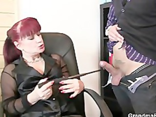 favourable fellows team fuck business woman