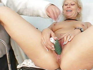 dirty granny doxy acquires her recturm examined